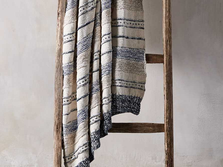 Multi-Stripe Knit Throw, slide 1 of 6