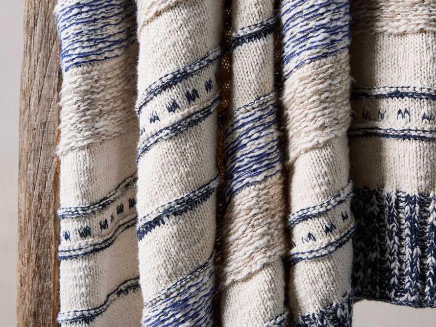 Multi-Stripe Knit Throw, slide 4 of 6