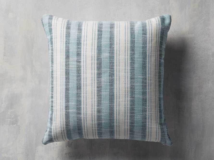 Beach Stripe Indoor/Outdoor Pillow, slide 1 of 7