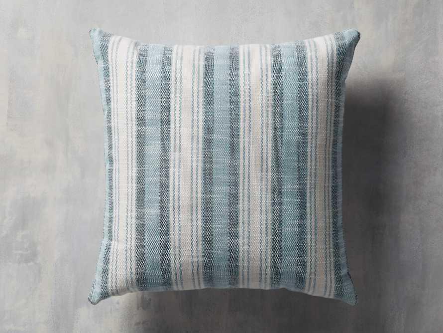 Beach Stripe Indoor/Outdoor Pillow, slide 2 of 7