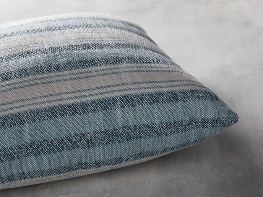 Beach Stripe Indoor/Outdoor Pillow, slide 3 of 7