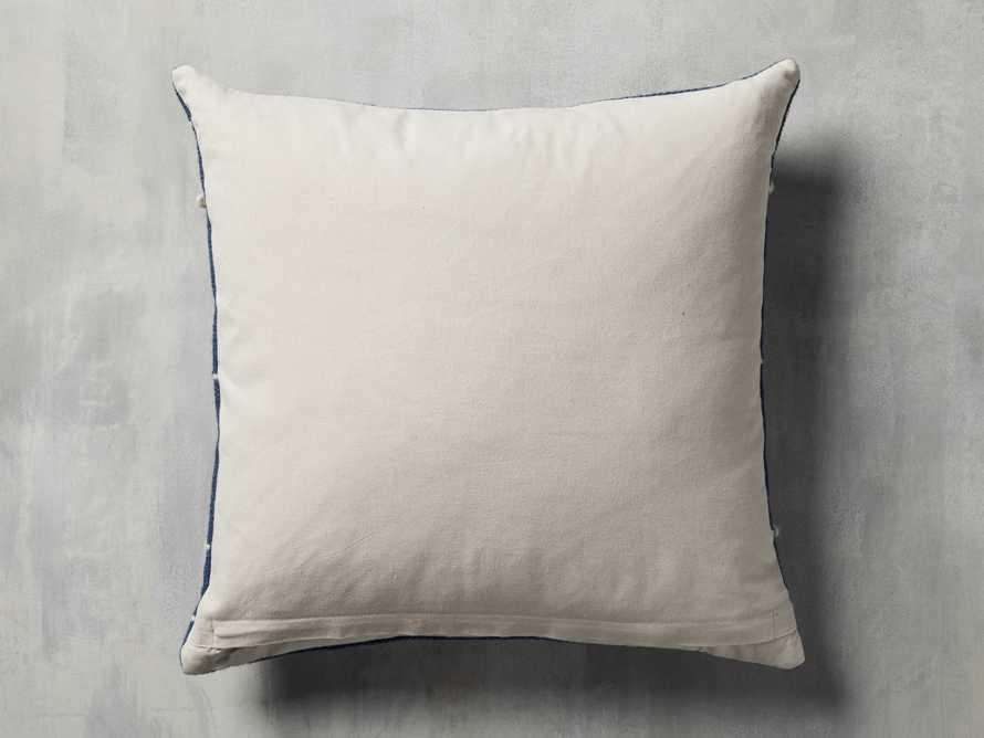 Nubby Stripe Pillow in Navy, slide 4 of 5