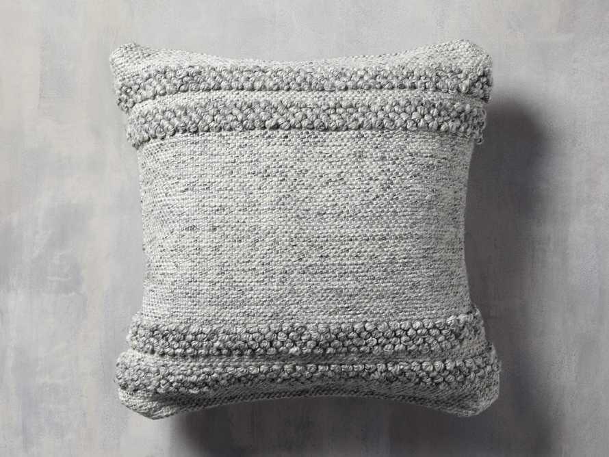 Seaside Outdoor Pillow in Grey, slide 1 of 3