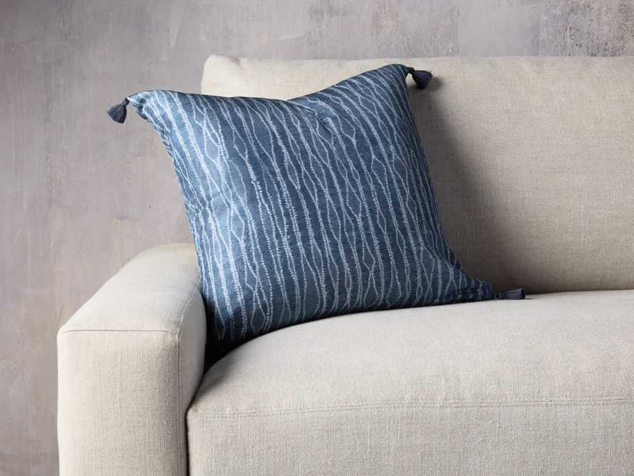 "Silk Shibori 20"" Pillow, slide 1 of 4"