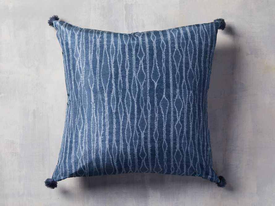 "Silk Shibori 20"" Pillow, slide 2 of 4"