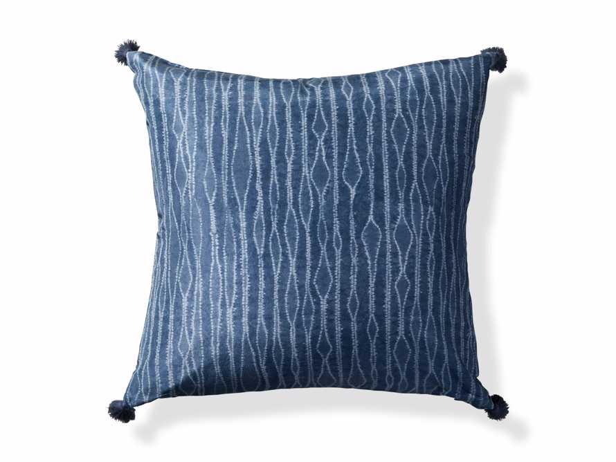 "Silk Shibori 20"" Pillow, slide 4 of 4"
