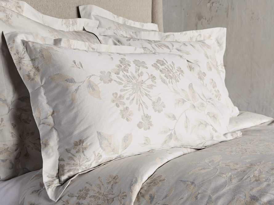 Sophia Queen Duvet Cover in Flax