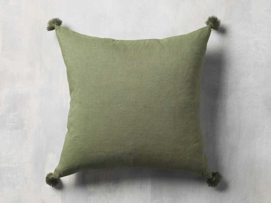 Alaia Star Pillow in Green, slide 4 of 4
