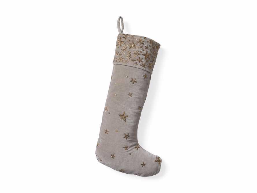 Grey Starburst Stocking, slide 3 of 3