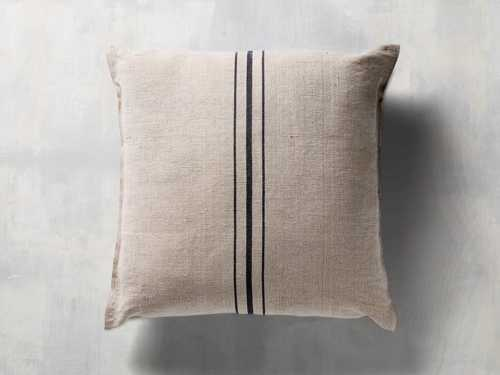 French Stripe Floor Pillow - Come take a peek at more Arhaus French Vintage Timeless Furniture, Decor and Lighting on Hello Lovely Studio.