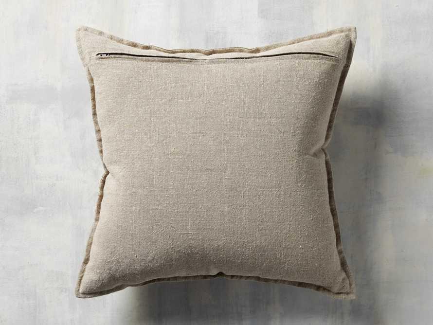 Stone Washed Velvet Basil Square Pillow, slide 4 of 5