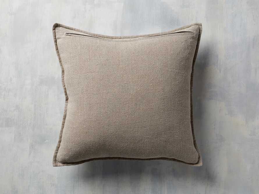Stone Washed Velvet Square Pillow in Petal