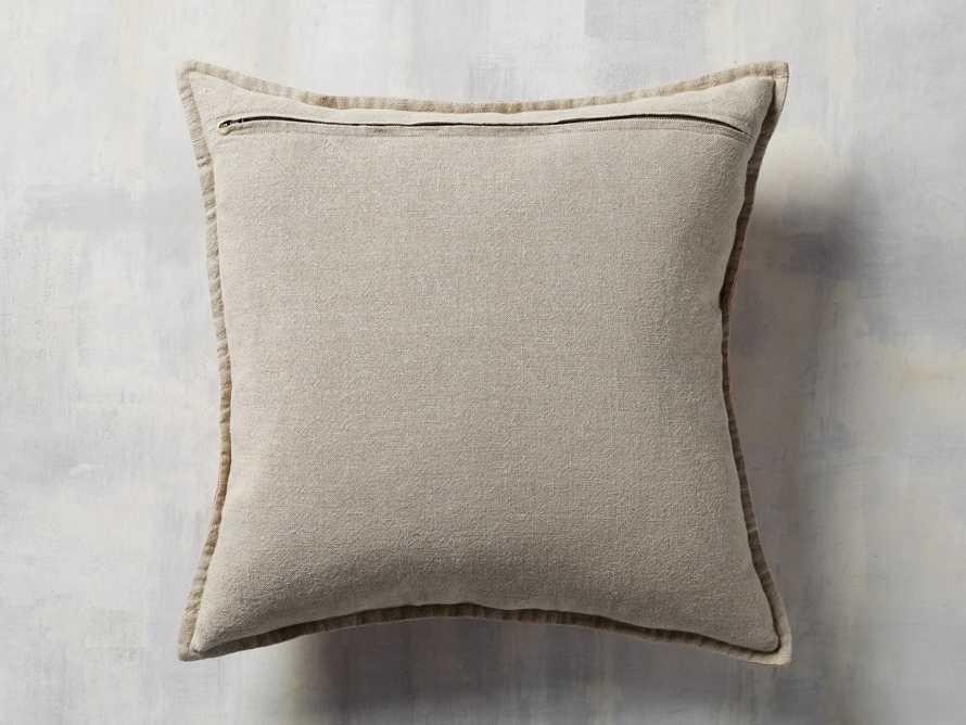 Stone Washed Velvet Terracotta Square Pillow, slide 4 of 6