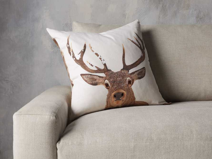 Stag Tartan Plaid Pillow Cover, slide 4 of 5