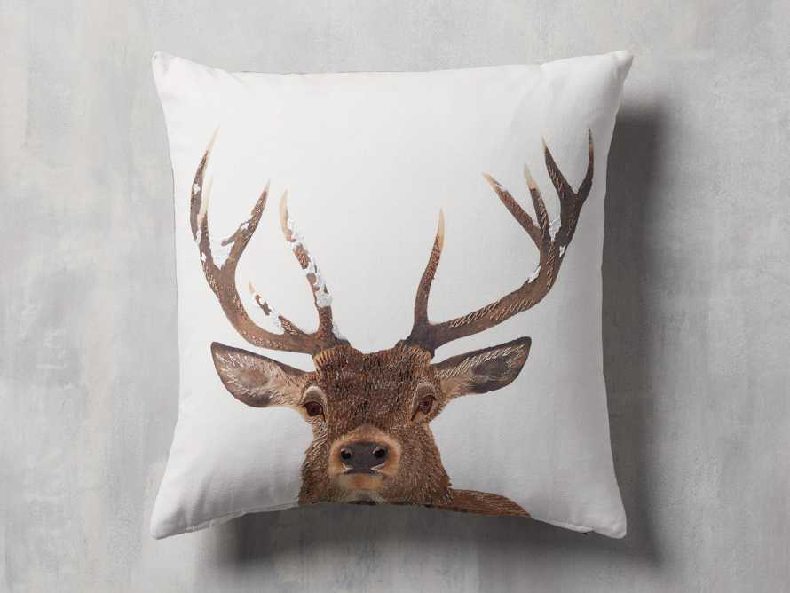 Stag Tartan Plaid Pillow Cover, slide 1 of 5