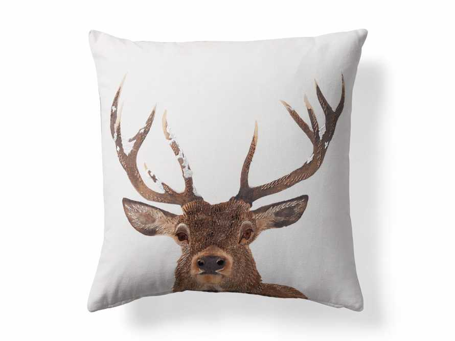 Stag Tartan Plaid Pillow Cover, slide 5 of 5