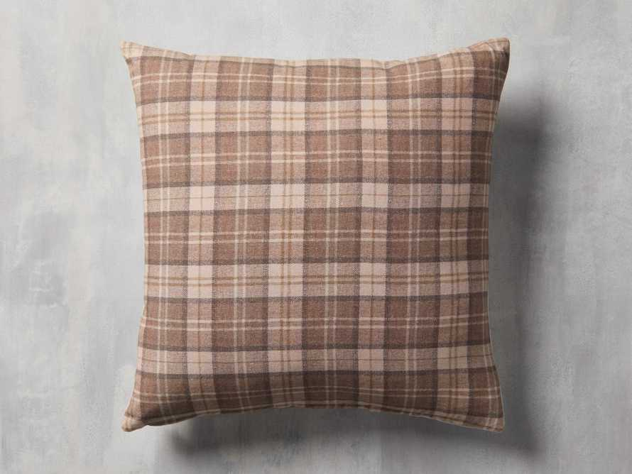 Stag Tartan Plaid Pillow Cover, slide 2 of 5