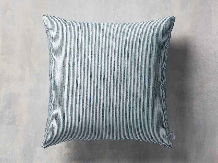 Ticking Stripe Indoor/Outdoor Pillow, slide 1 of 5