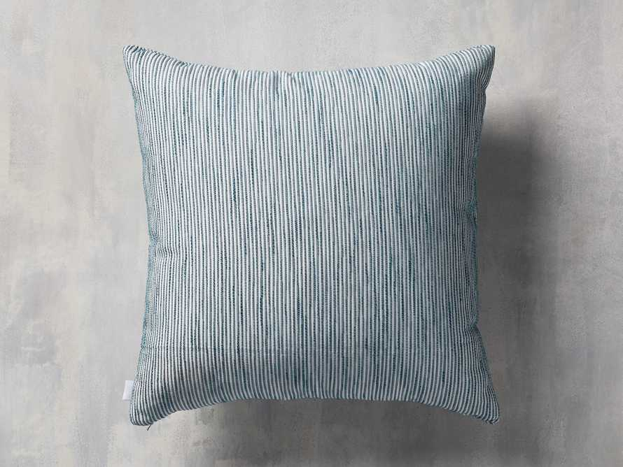 Ticking Stripe Indoor/Outdoor Pillow, slide 2 of 5