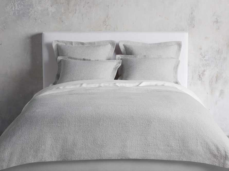 Queen Vintage Washed Coverlet in Flax, slide 1 of 5