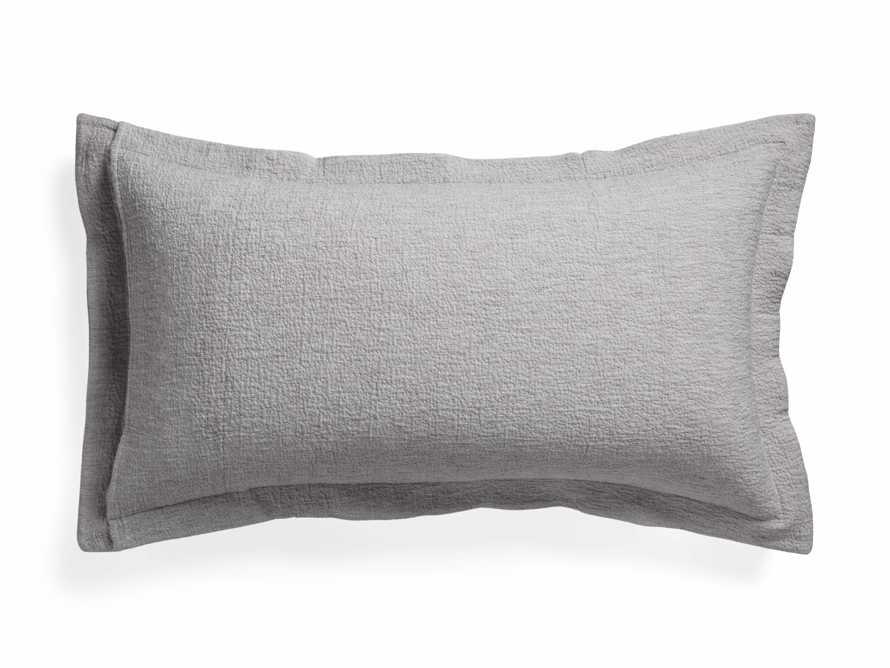 King Vintage Washed Shams in Grey, slide 6 of 7