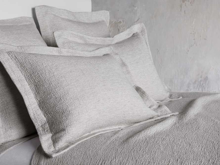 King Vintage Washed Shams in Grey, slide 1 of 7