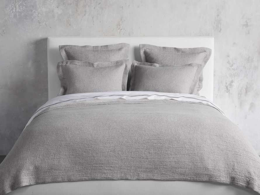 Queen Vintage Washed Coverlet in Grey, slide 1 of 6