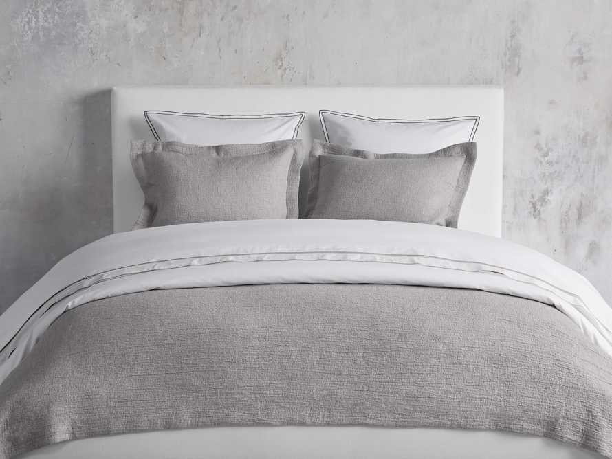 Queen Vintage Washed Coverlet in Grey, slide 4 of 6