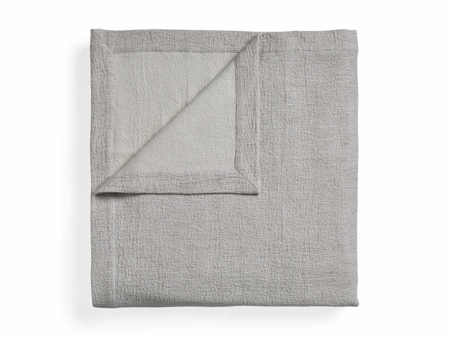 Queen Vintage Washed Coverlet in Grey, slide 5 of 6