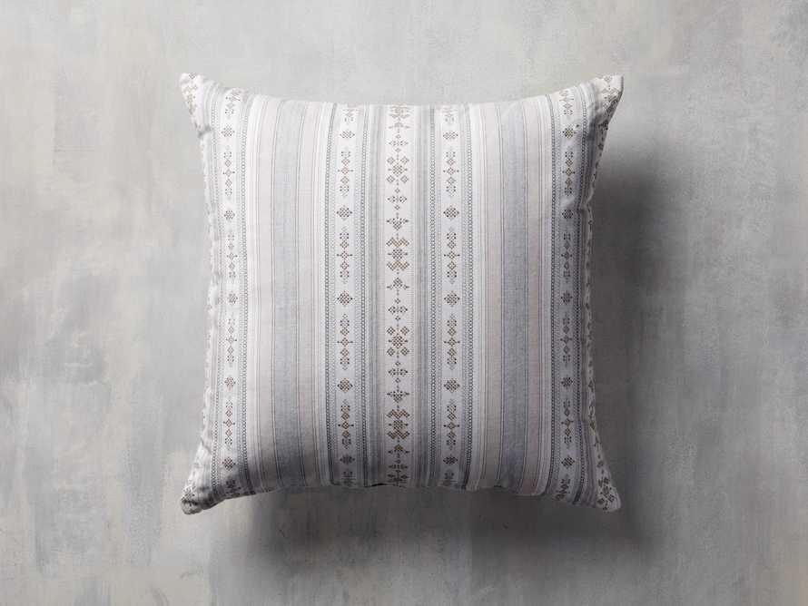 Voyage Indoor/Outdoor Pillow in White
