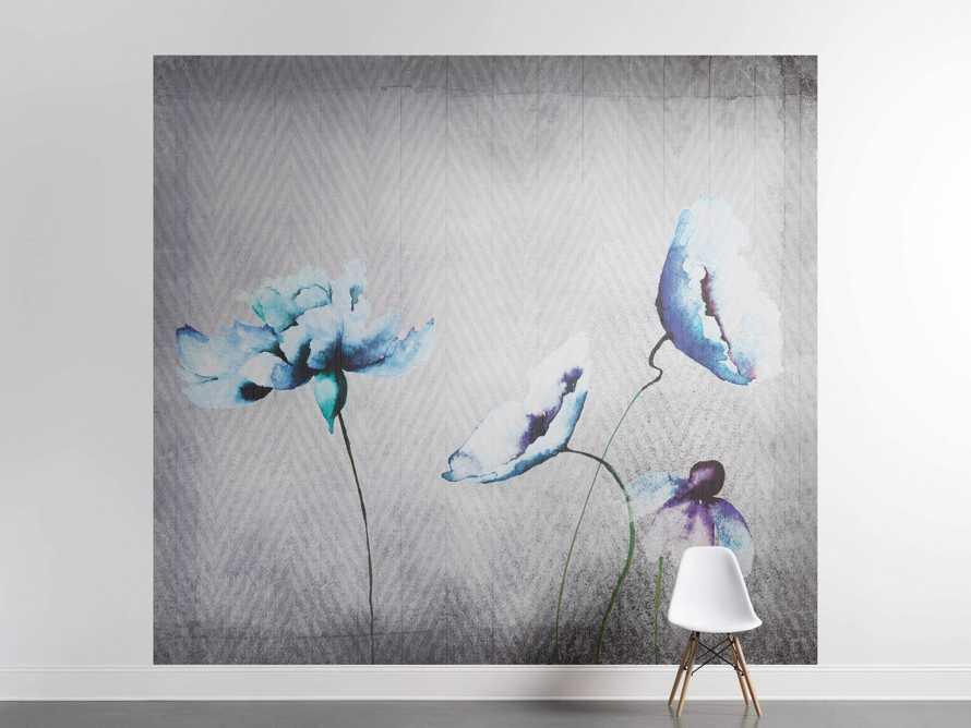 Watercolor Fleur Italian Wall Mural