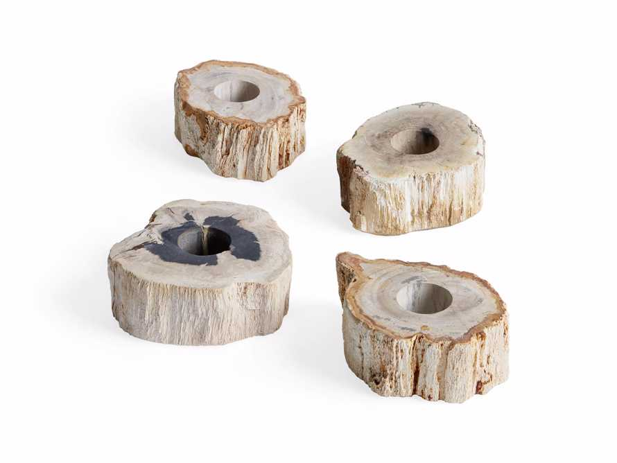 "Petrified Wood 3"" Tealight Holder, slide 5 of 8"