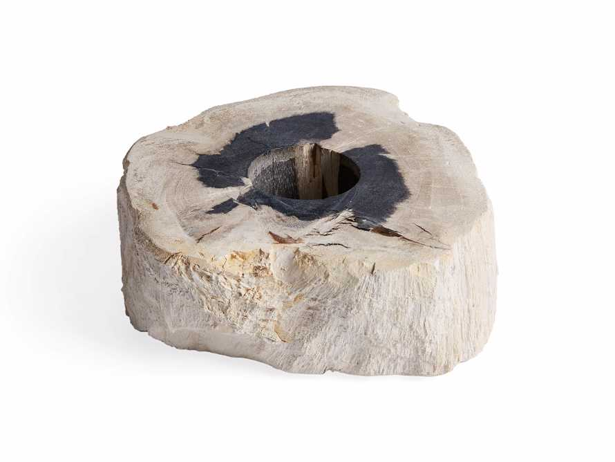 "Petrified Wood 3"" Tealight Holder, slide 6 of 8"
