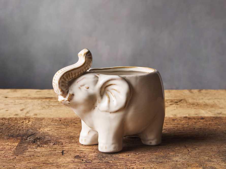 ELEPHANT CACHEPOT, slide 1 of 1