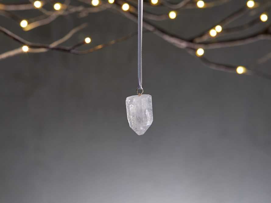 Quartz Crystal Ornaments (set of 3), slide 1 of 5