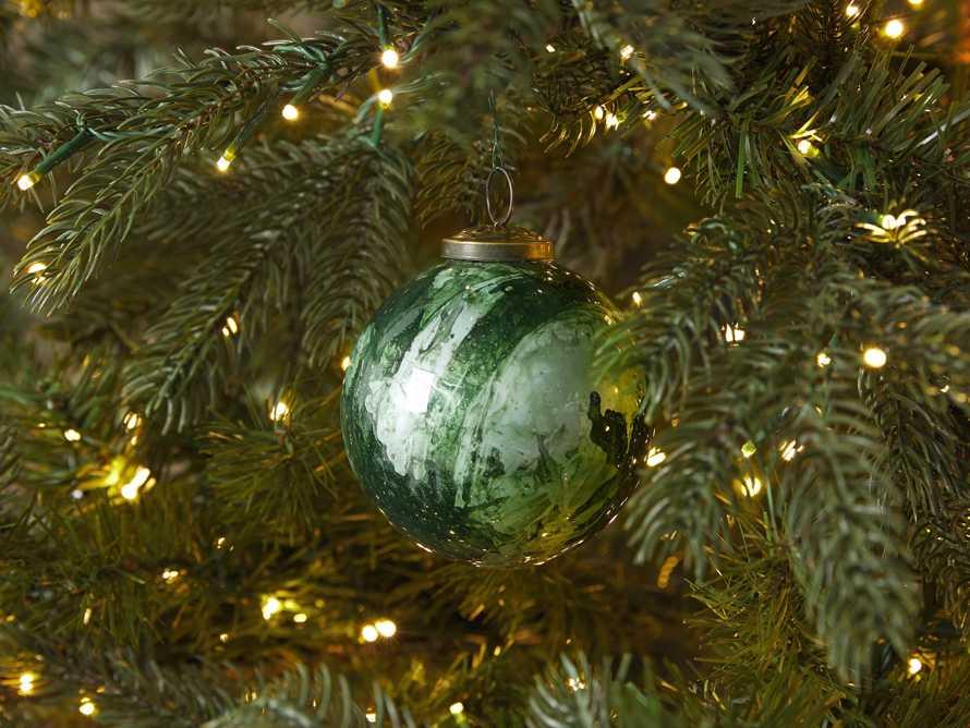 Celestial Ornament in Green (Set of 6), slide 2 of 4
