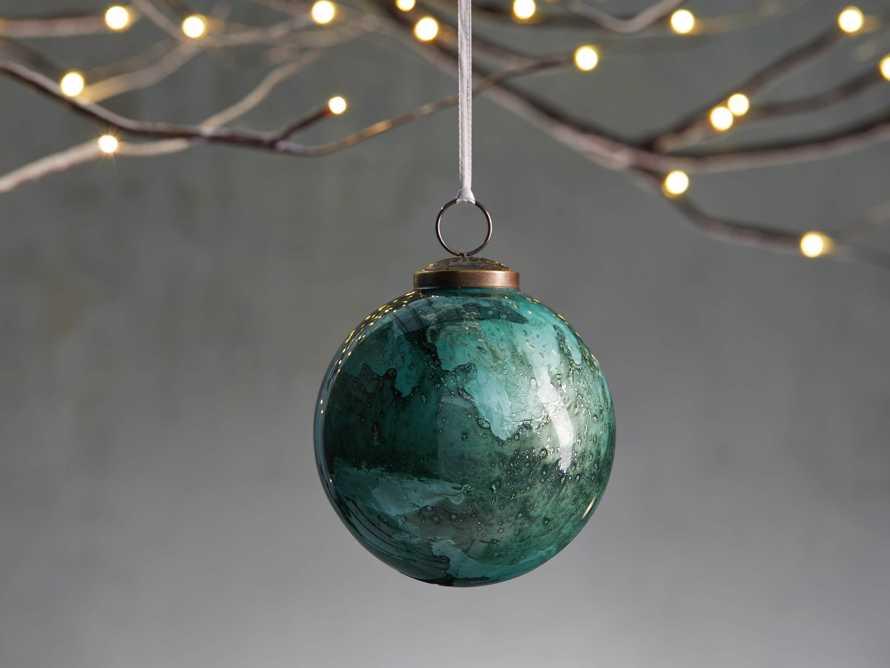Celestial Ornament in Green (Set of 6), slide 1 of 4