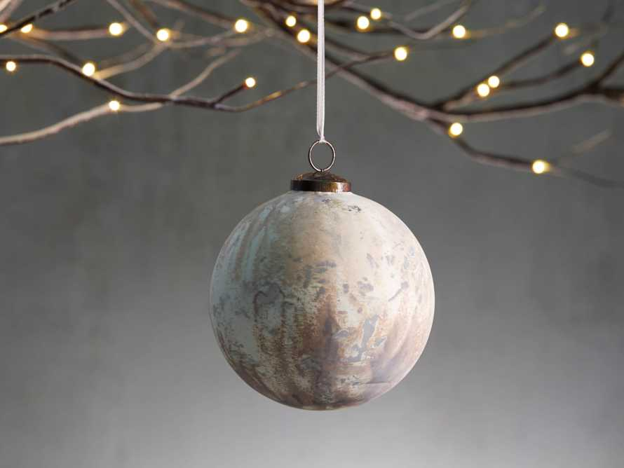 Large Celestial Ornament in White (Set of 6), slide 1 of 4