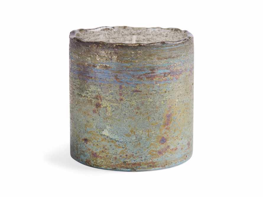 Evergreen Mercury Glass Candle, slide 3 of 3