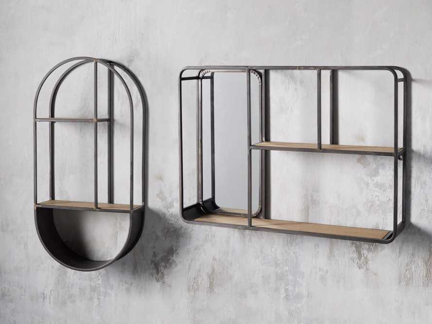 Rectangular Mirror Wall Shelf, slide 3 of 3