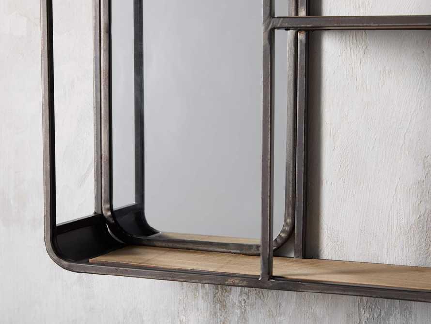 Rectangular Mirror Wall Shelf, slide 2 of 3