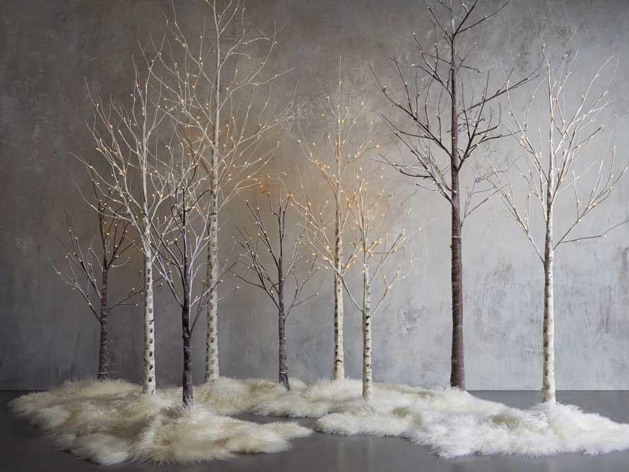 4' Aurora Snowy Tree, slide 4 of 6