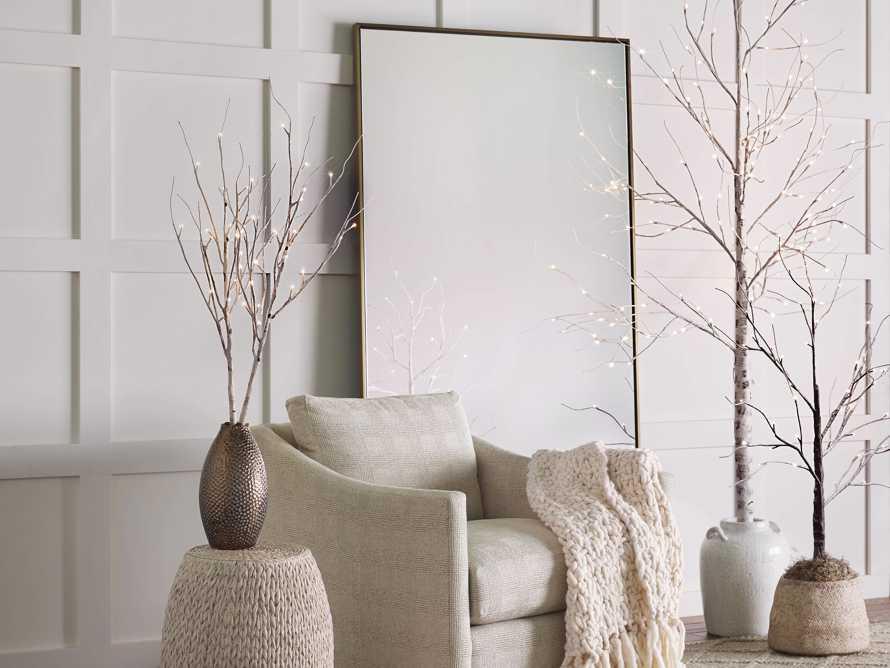 4' Aurora Snowy Tree, slide 5 of 8
