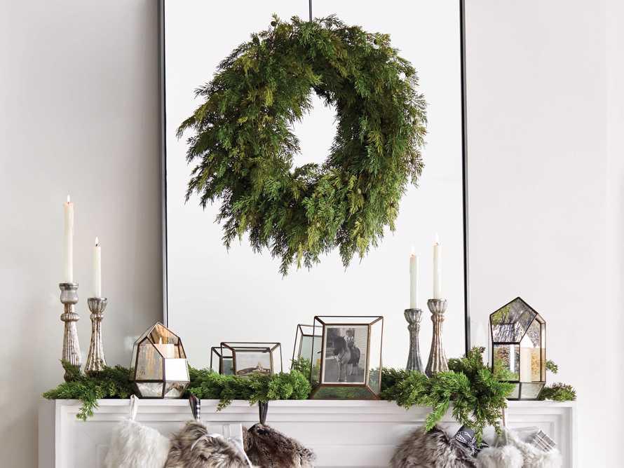 Faux Cedar Wreath, slide 3 of 5