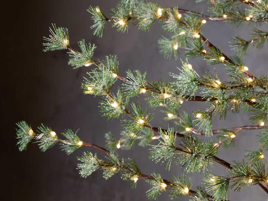 6' Iced Ming Pine Tree, slide 3 of 3