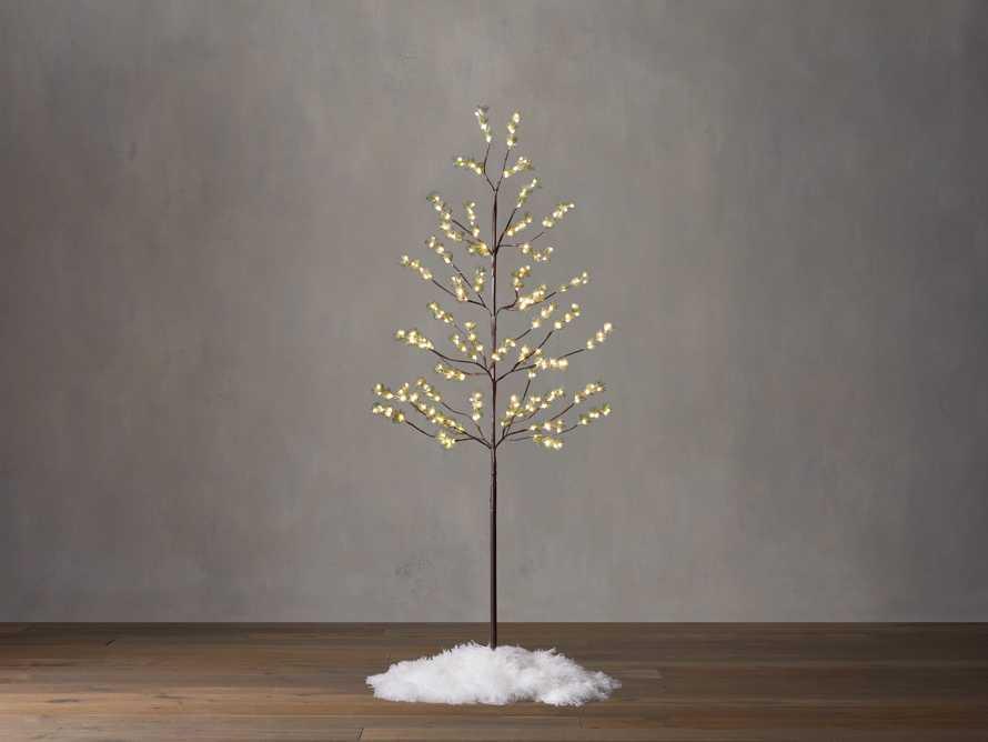 6' Iced Ming Pine Tree, slide 1 of 3