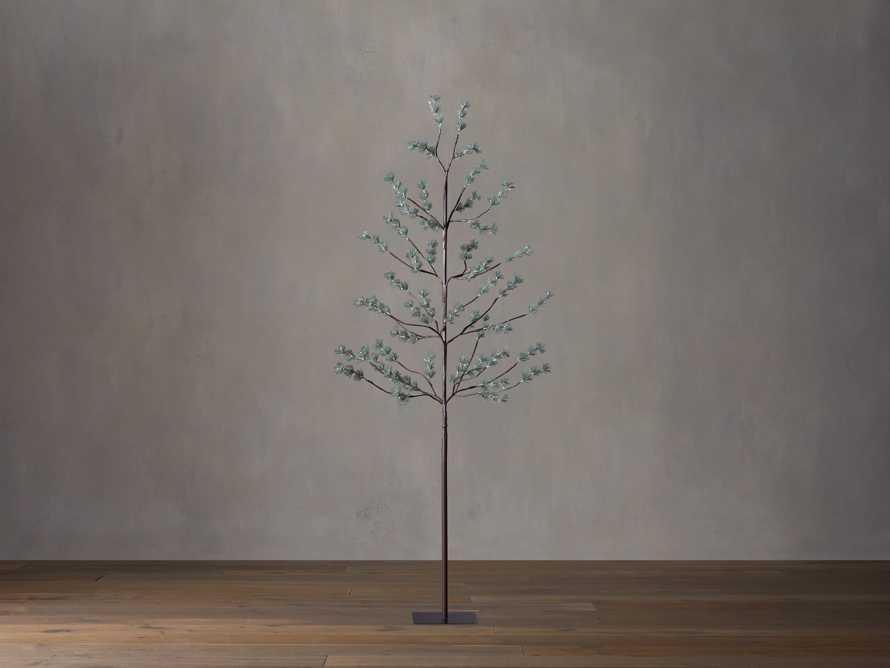 6' Iced Ming Pine Tree, slide 2 of 3