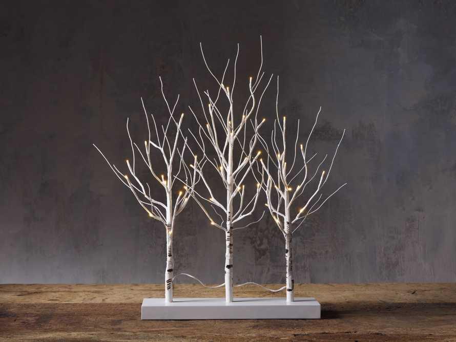 2' Birch Mantle  Triptych, slide 1 of 3