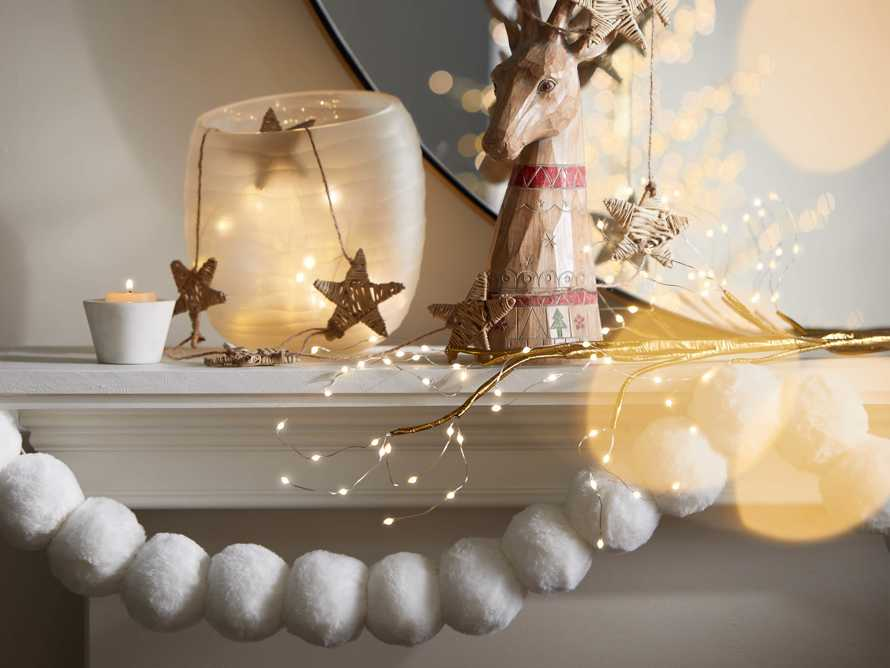 Faux Snowball Garland, slide 4 of 4