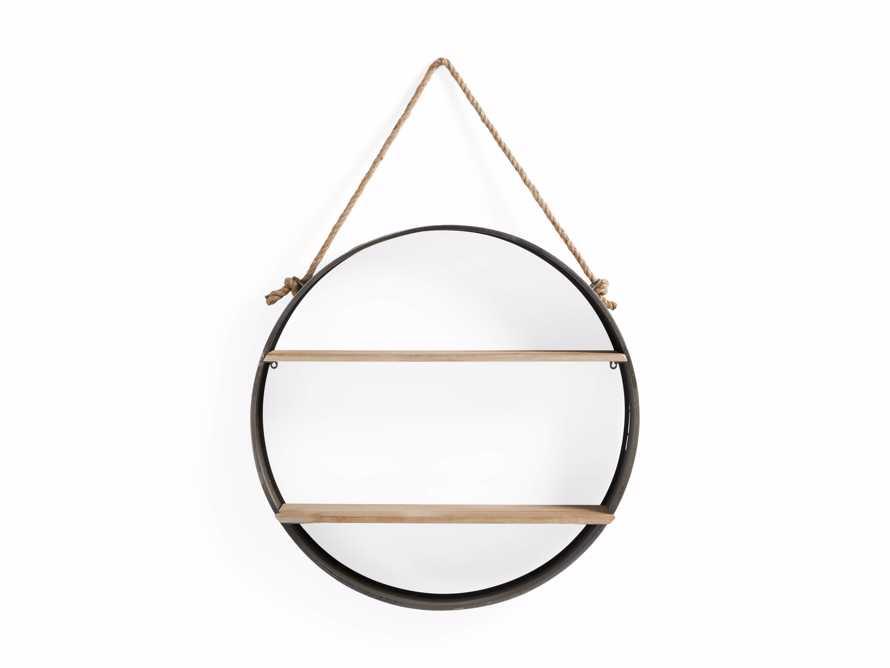Circle Hanging Wall Shelf, slide 3 of 3